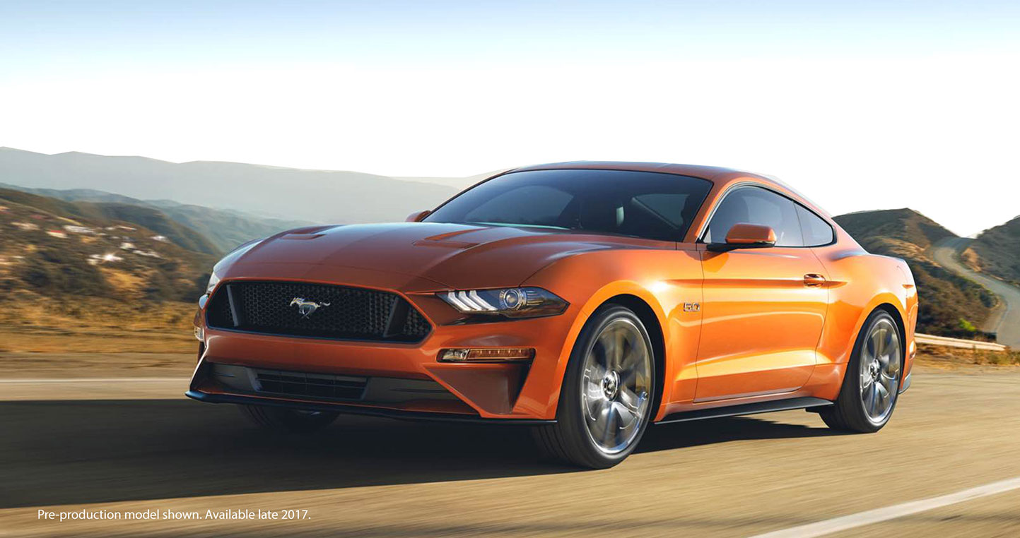 New Ford Mustang, Petrie Ford