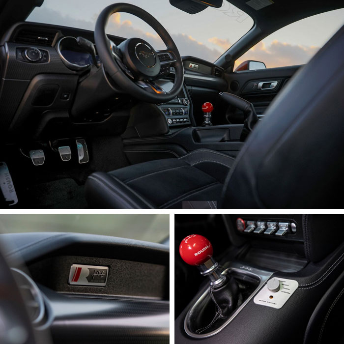 2019 ROUSH Stage 3 Mustang GT Interior