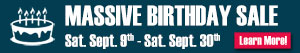 Massive Birthday Sale Petrie Ford