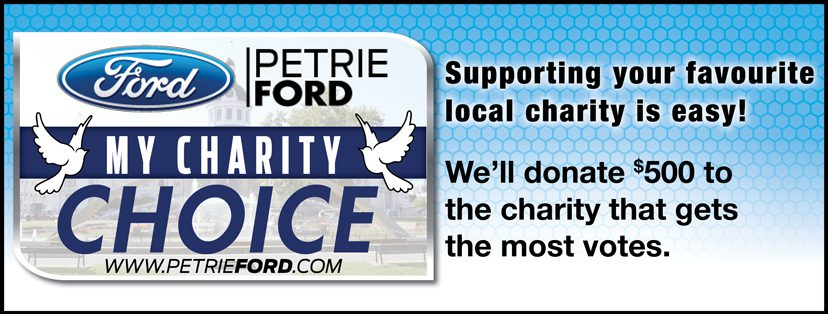 Petrie Ford Supports Local Charities