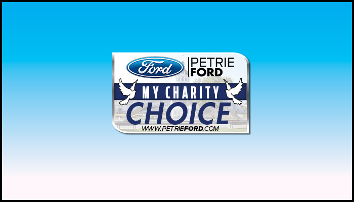 Petrie Ford My Charity Choice